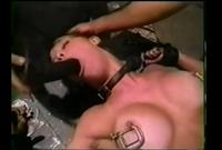 【SM洋物】淫尻スパンキング!竹馬磔バイブ悶絶!苦痛の呻きをもらしながらも被虐の悦びに目覚めていく女たち
